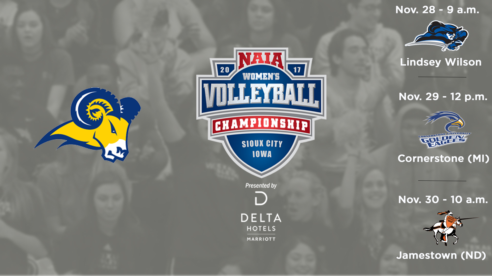 Pool Play Schedule Announced For 2017 NAIA Women's